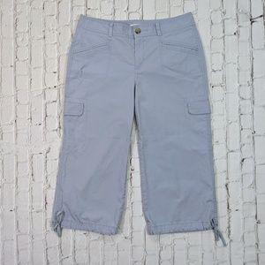 Dockers Light Blue Khaki Cropped Pants